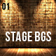 Stage Backgrounds Col1 - GraphicRiver Item for Sale