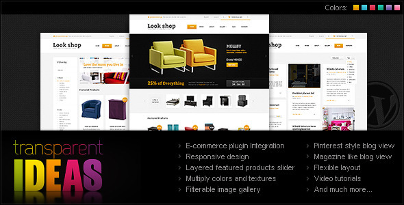 Lookshop – Furniture WordPress eCommerce Theme