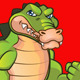 Tough Gator Mascot - GraphicRiver Item for Sale
