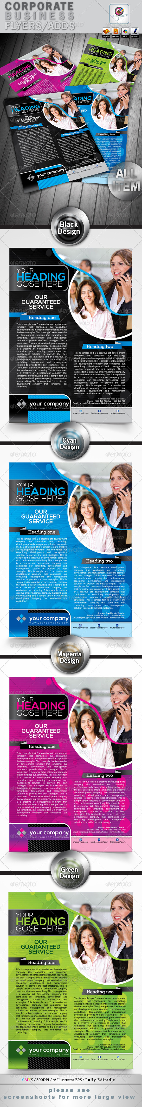 Corporate Business Flyers/Adds - Corporate Flyers