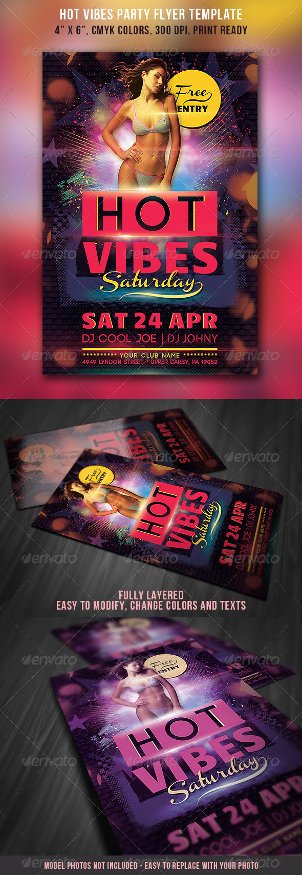 Hot Party Flyer - Clubs & Parties Events