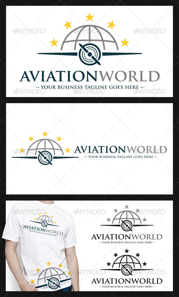 Aviation Logo Template - Objects Logo Templates