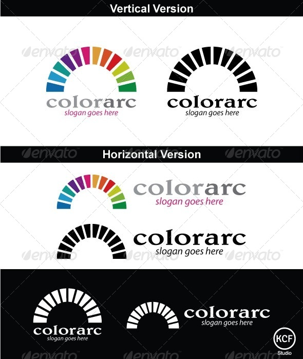 ColorArc Logo Design - Symbols Logo Templates