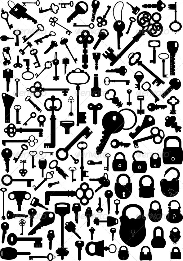 Keys and Locks - Man-made Objects Objects