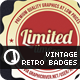 Vintage Retro Badges Set 1 - GraphicRiver Item for Sale