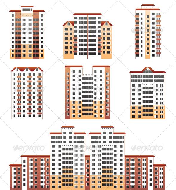 Modern Buildings - Buildings Objects