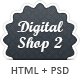 Digital Shop 2 - HTML Template - ThemeForest Item for Sale
