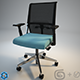 """Haworth """"System59"""" Chair  +Scene+Materials - 3DOcean Item for Sale"""