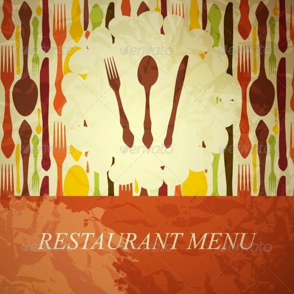 The Concept of Restaurant Menu - Miscellaneous Vectors