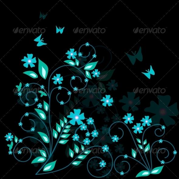 Floral Background - Miscellaneous Vectors
