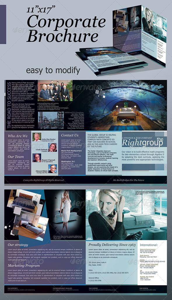 """11""""x17"""" Corporate Brochure - Corporate Brochures"""