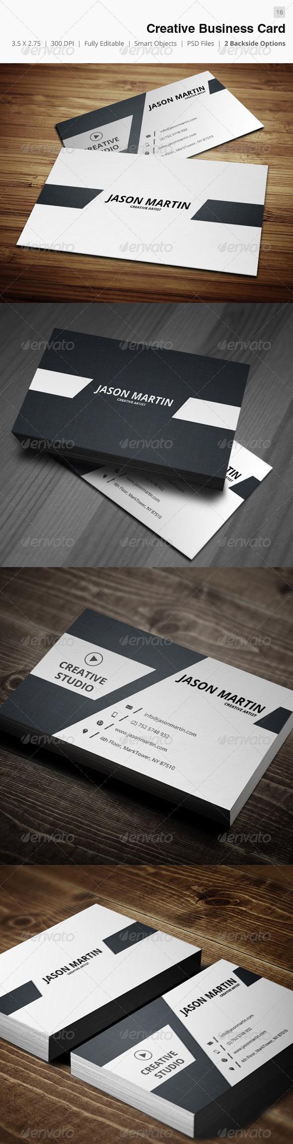 Creative Business Card - 16 - Creative Business Cards