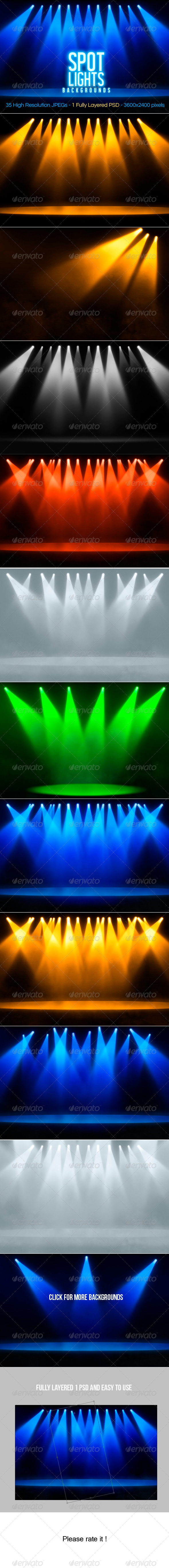 Spotlights Backgrounds - Miscellaneous Backgrounds