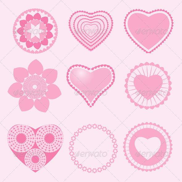 Love Symbol - Decorative Symbols Decorative