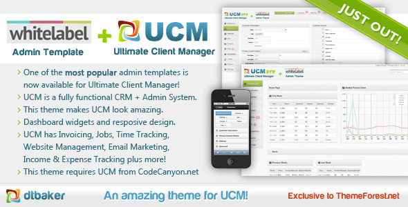 UCM Theme: White Label - Miscellaneous CMS Themes