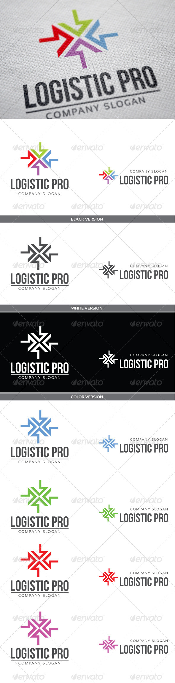 Logistic Pro - Vector Abstract