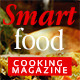 Smart Food Cooking Magazine - GraphicRiver Item for Sale