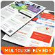 Multipurpose Corporate Flyers, Magazine Ads Vol 12 - GraphicRiver Item for Sale