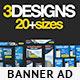 Multipurpose Banner Ads Bundle 2.0 - GraphicRiver Item for Sale