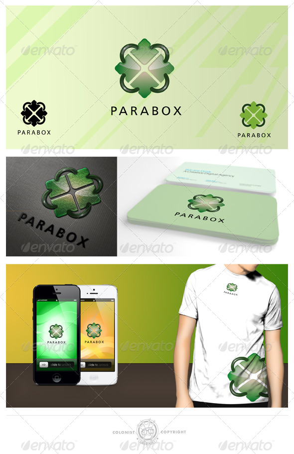 Parabox Logo - Vector Abstract