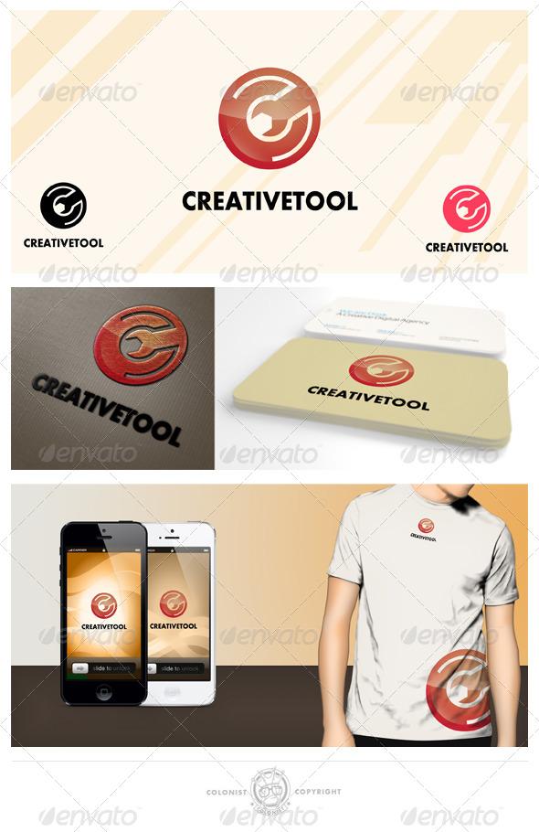 Creative Tool Letter C Logo - Letters Logo Templates