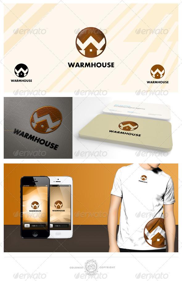 Warmhouse Logo - Buildings Logo Templates