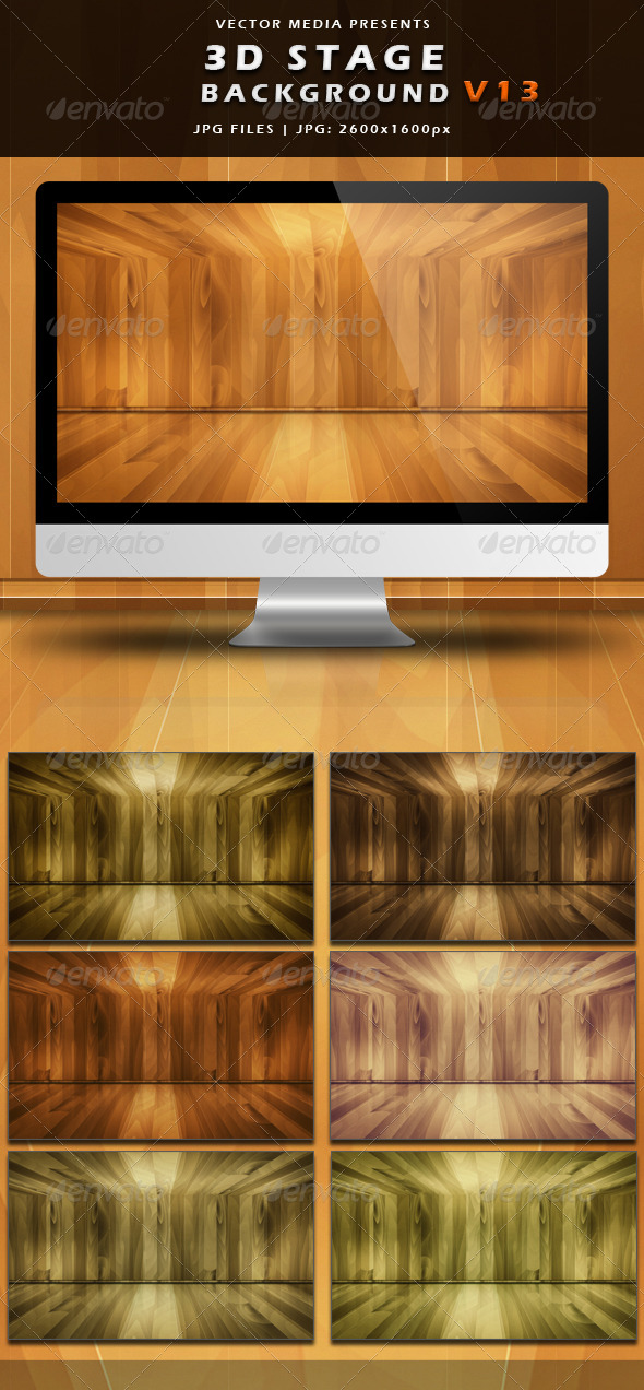 3D Stage Background - Vol.13 - 3D Backgrounds