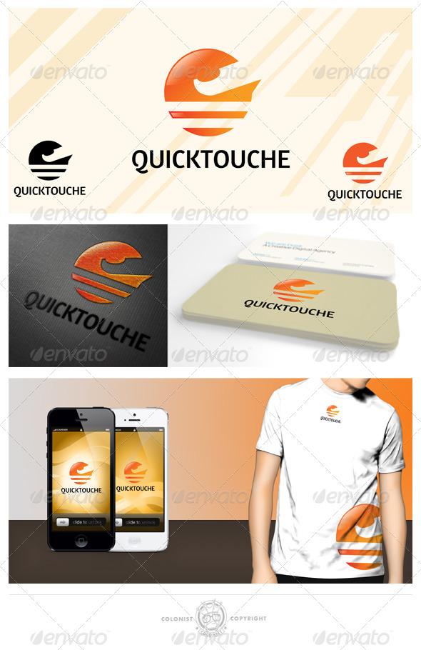Quicktouche Logo - Vector Abstract