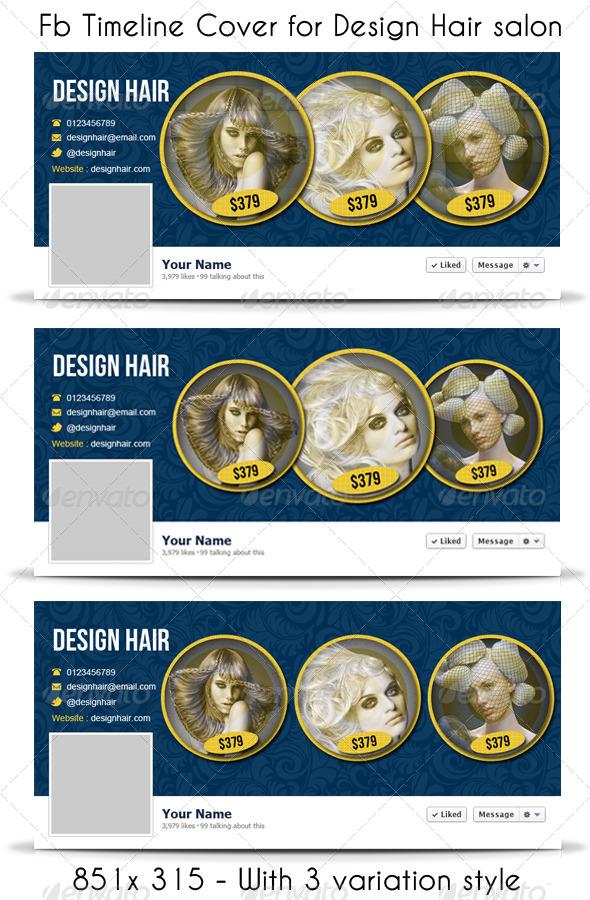 Design Hair FB Timeline Cover - Facebook Timeline Covers Social Media