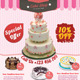 Cake Shop Flyer - GraphicRiver Item for Sale