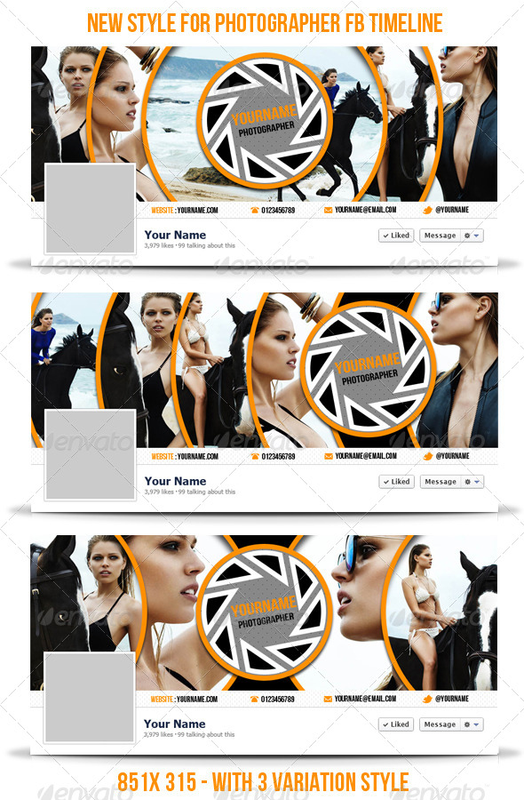New Style for Photographer Facebook Timeline Cover - Facebook Timeline Covers Social Media