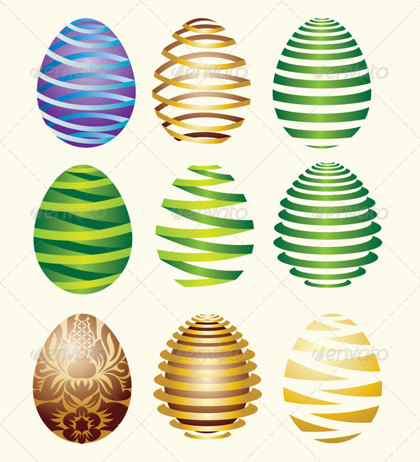 Egg Easter Decorative - Miscellaneous Seasons/Holidays