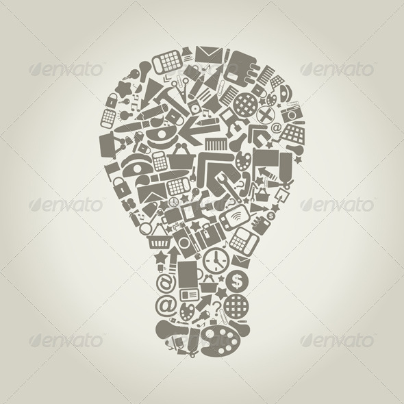 Office Bulb - Miscellaneous Vectors