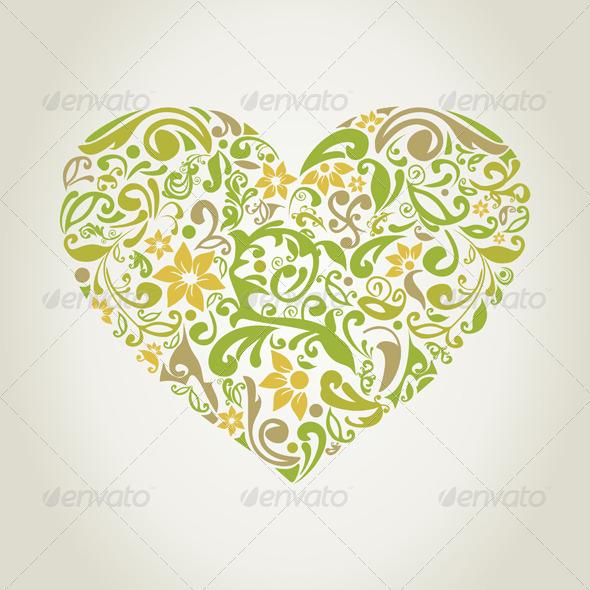 Plant Heart 2 - Valentines Seasons/Holidays
