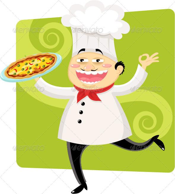 Italian Chef - People Characters