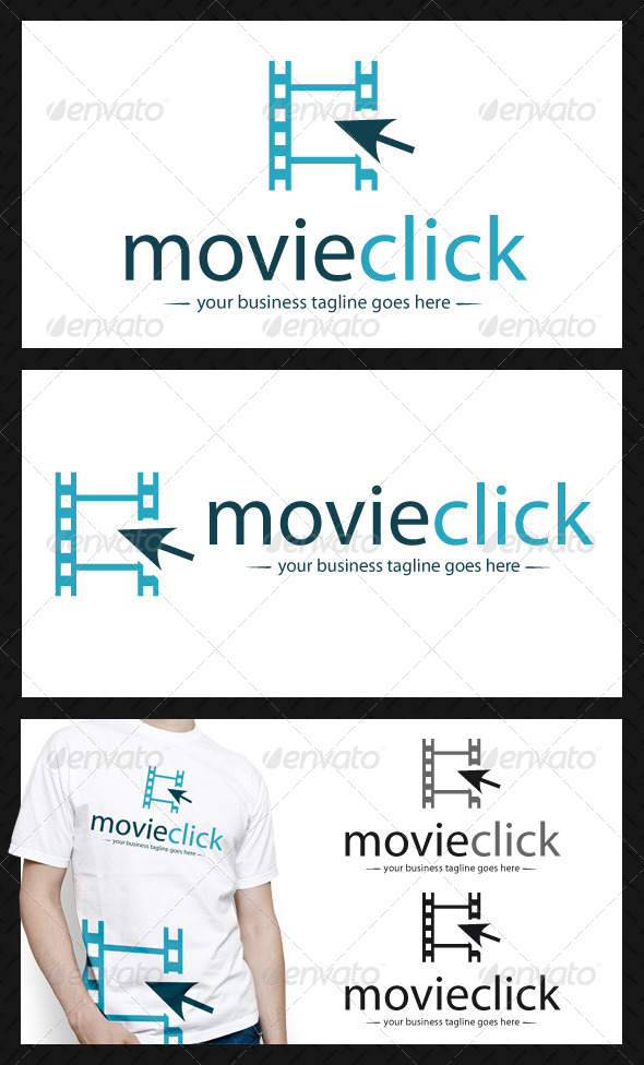 Movie Click Logo Template - Objects Logo Templates