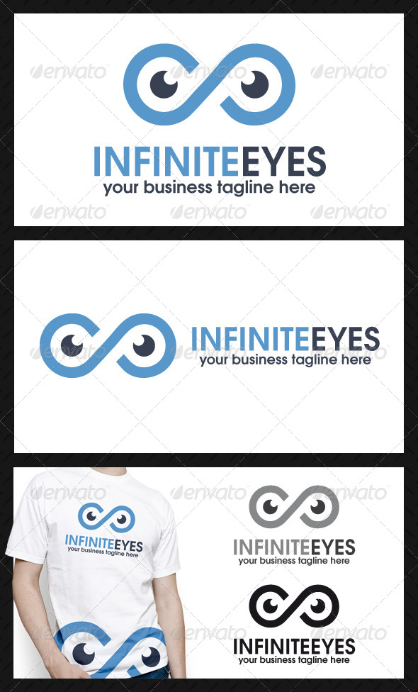 Infinite Eyes Logo Template - Humans Logo Templates