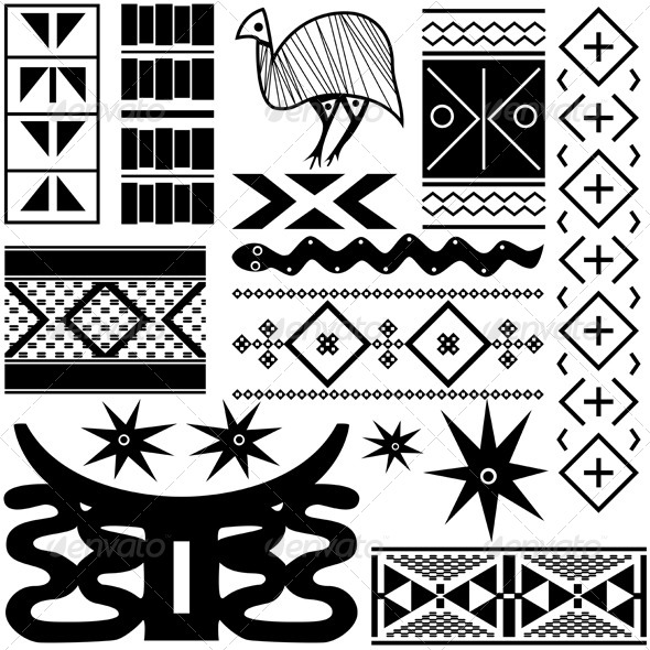 Ancient African Pattern - Patterns Decorative