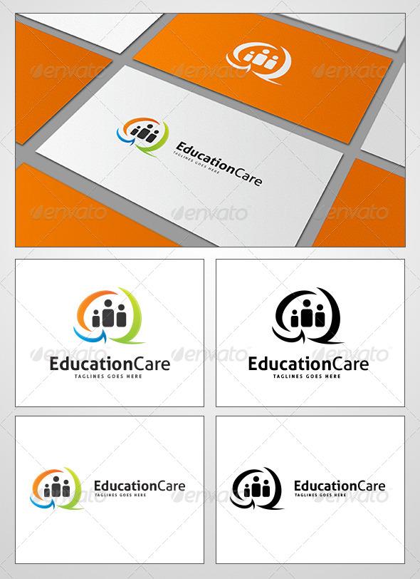 EducationCare Logo Design - Abstract Logo Templates