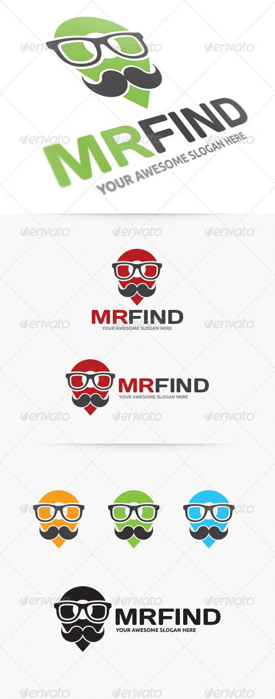 Mister Find Logo - Humans Logo Templates