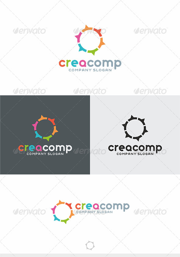 Crea Comp Logo - Vector Abstract
