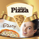 Modern Pizza Flyer - A4 & Letter Sizes - GraphicRiver Item for Sale