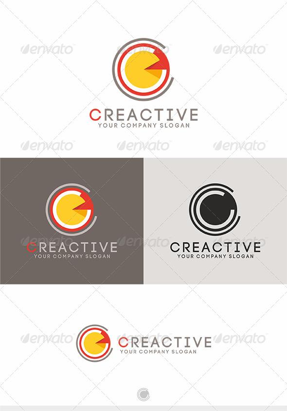 Creactive Logo - Letters Logo Templates