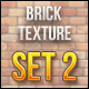 Brick Textures Set 2 - GraphicRiver Item for Sale