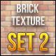 Brick Textures Set 2 - GraphicRiver Item for Sale