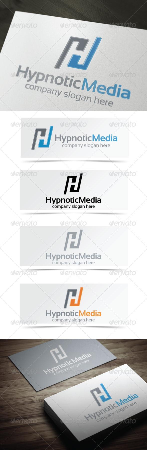 Hypnotic Media - Letters Logo Templates