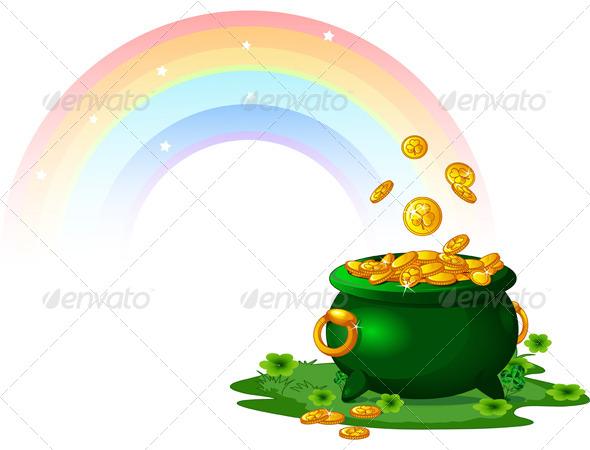 Pot of Gold - Seasons/Holidays Conceptual