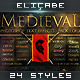 Medieval Photoshop Text Effects [BUNDLE] - GraphicRiver Item for Sale