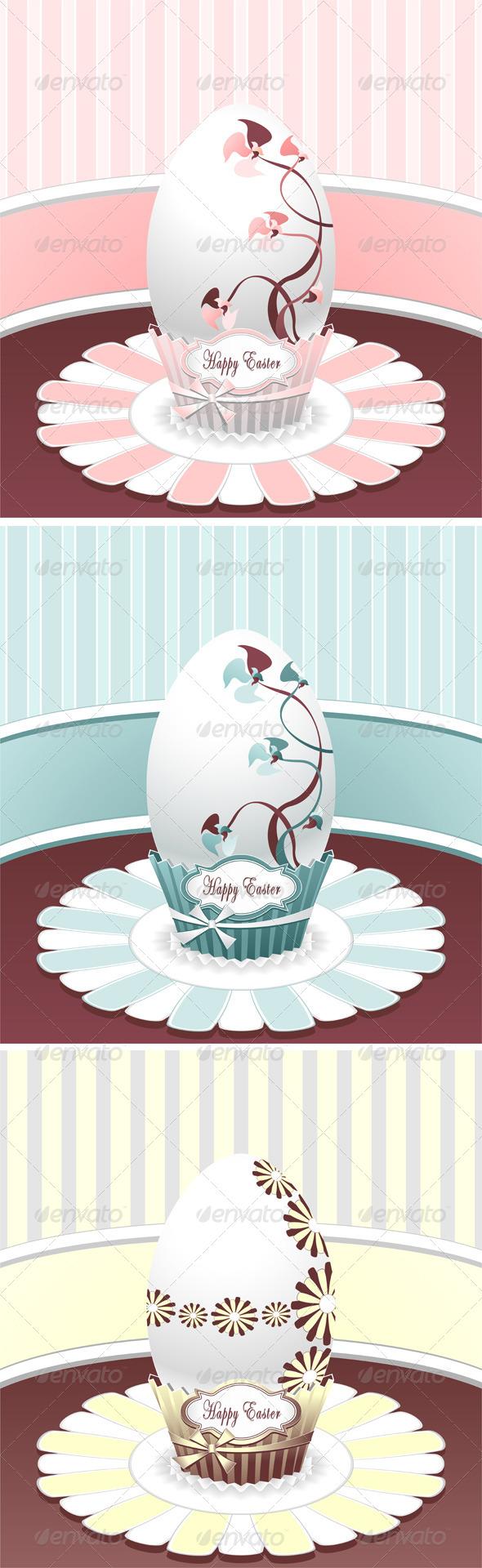Set Style Easter Egg - Seasons/Holidays Conceptual