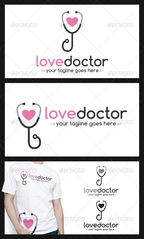 Doctor Love Logo Template - Objects Logo Templates